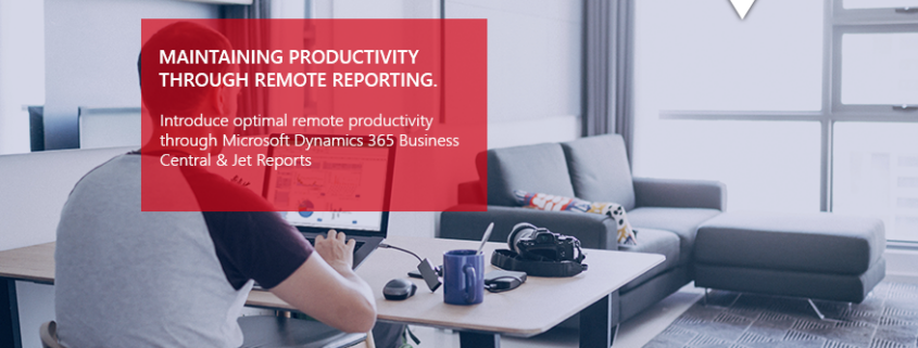 IT emplyoee using laptop for remote reporting