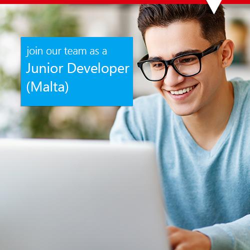 young IT employee malta