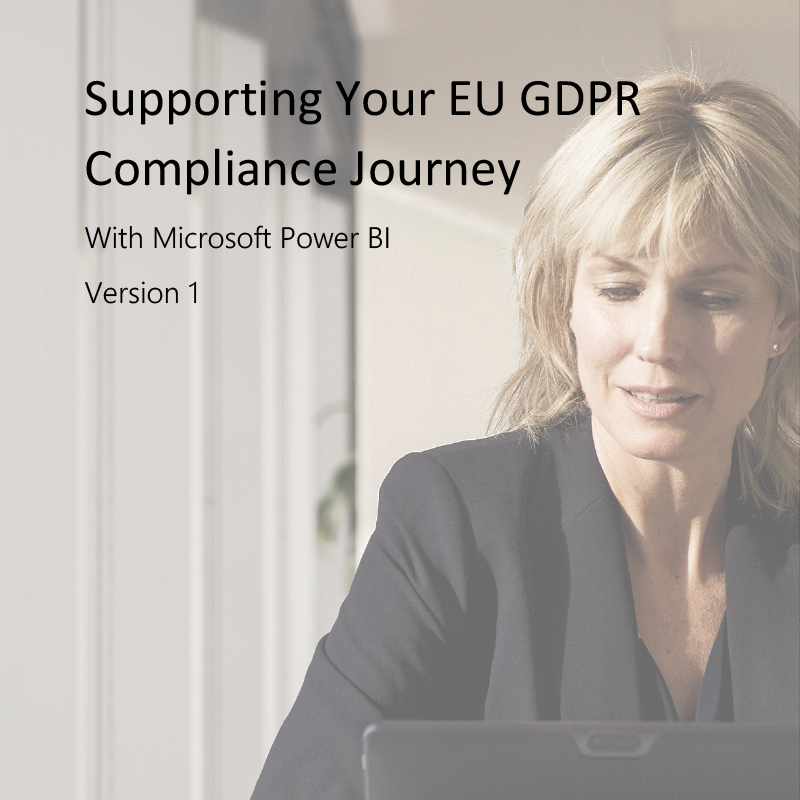 executive using laptop for GDPR compliance