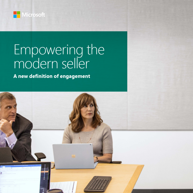 businesswoman using laptop to engage customer