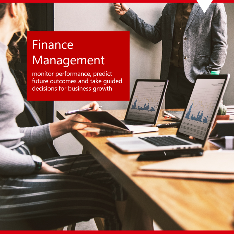 employees using dynamics 365 for financial reporting